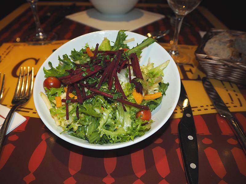 salade ratatouille