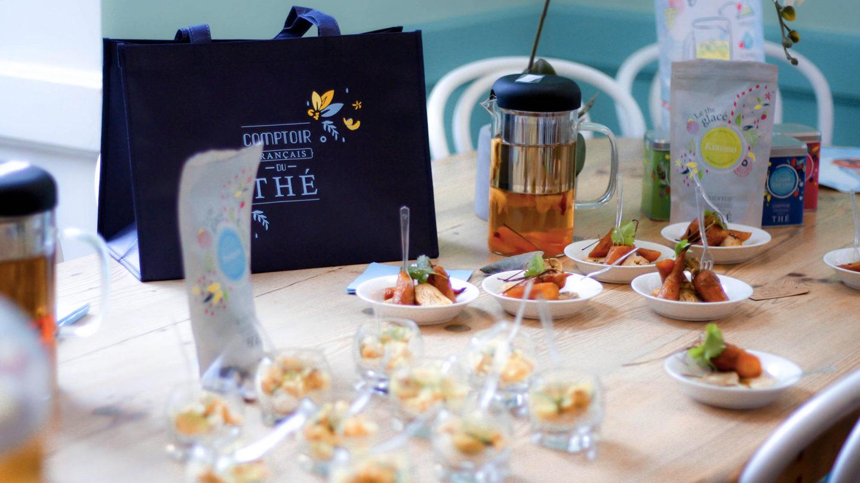 Le comptoir français du thé chez Pimprenelle