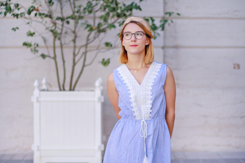 Ma robe bleue favorite pour cet été